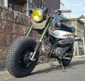 スズキ バンバン50